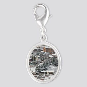 town_view_full_text copy Silver Oval Charm