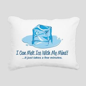 melt ice Rectangular Canvas Pillow
