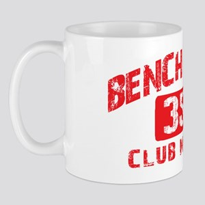 bench press 350 Mug