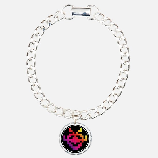Invader Badge Bracelet