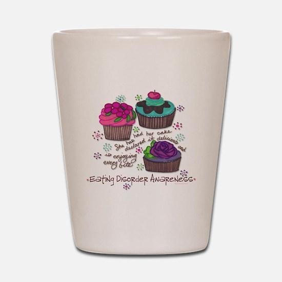 Cupcake Shot Glass