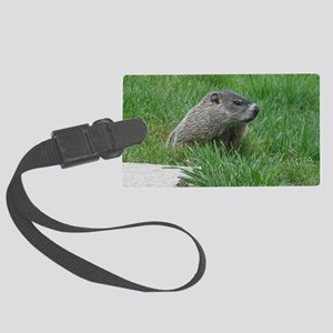 Woodchuck Large Luggage Tag