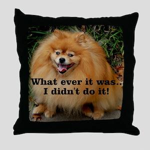 Timmy3 Throw Pillow
