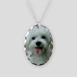 Sadie00 Necklace Oval Charm
