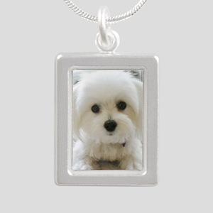 8 Silver Portrait Necklace
