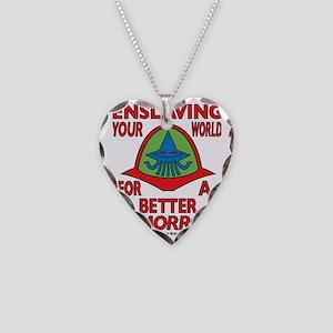 Emperor-Mollusk-Logo-WT-L Necklace Heart Charm