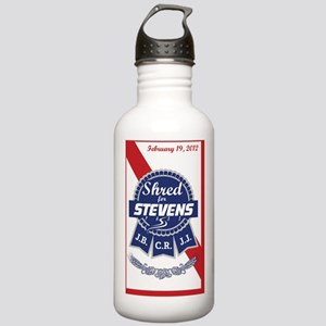stevens-3x5 Stainless Water Bottle 1.0L