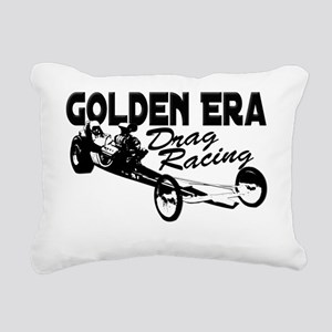 golden era slingshot bla Rectangular Canvas Pillow