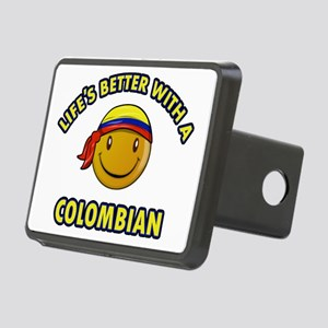 colombia Rectangular Hitch Cover