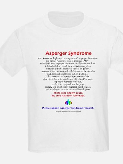 Asperger Facts Kids T-Shirt