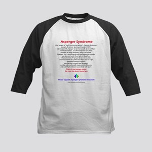 Asperger Facts Kids Baseball Jersey
