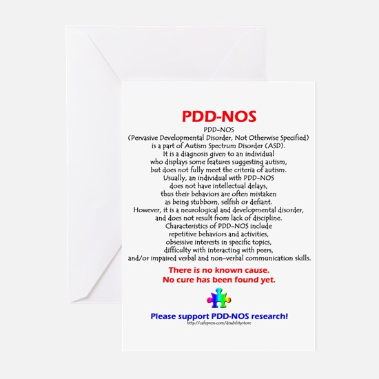 PDD-NOS Facts Greeting Cards (Pk of 10)