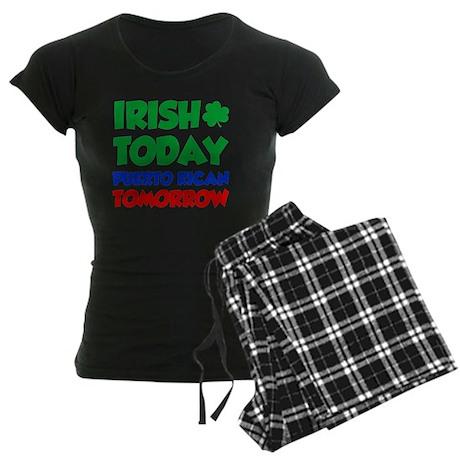 Irish Today Puerto Rican Women's Dark Pajamas