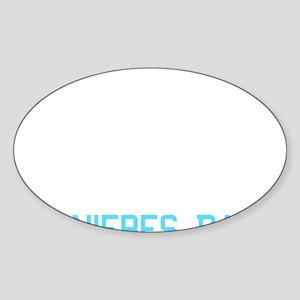 Casse toi pauvre con Sticker (Oval)