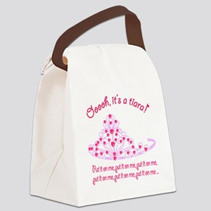 Tiara_Put it On Me2 Canvas Lunch Bag
