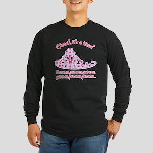 Tiara_Put it On Me2 Long Sleeve Dark T-Shirt