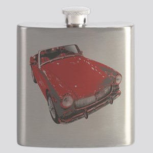 MG motorcar midget Flask