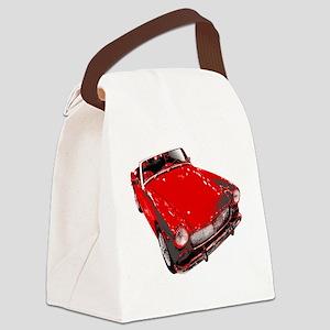 MG motorcar midget Canvas Lunch Bag