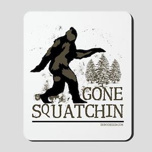 gonesquatchinRESIZED Mousepad