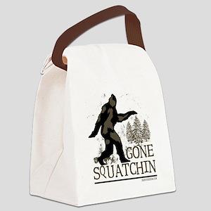 gonesquatchinRESIZED Canvas Lunch Bag