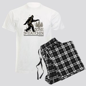 gonesquatchinRESIZED Men's Light Pajamas