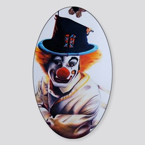 clownfear1 Sticker (Oval)