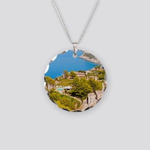 Majorca Necklace Circle Charm