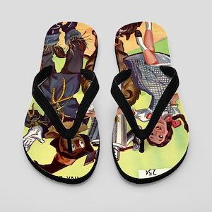 CI BAUM OZ big Flip Flops