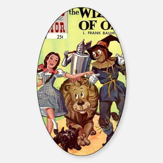 CI BAUM OZ big Sticker (Oval)