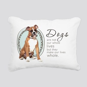wholelives4 Rectangular Canvas Pillow