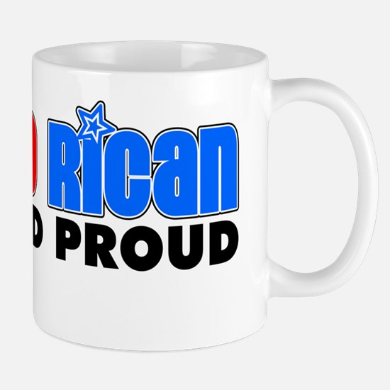 Puerto Rican And Proud Mug