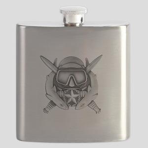DS w SFUWO WHT Flask