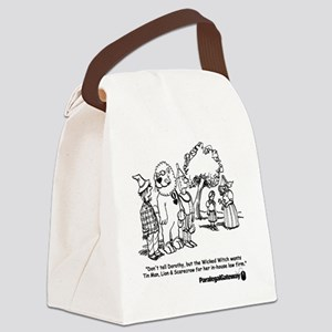 PG cartoon 2 Canvas Lunch Bag