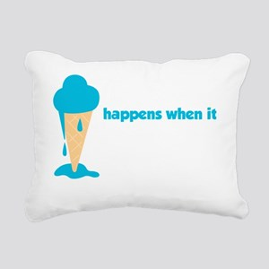 iceLicked5 Rectangular Canvas Pillow
