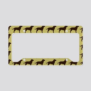 choclabclutch License Plate Holder