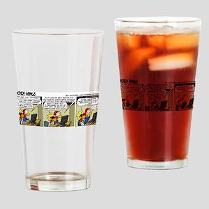 0655 - Flight simulator Drinking Glass