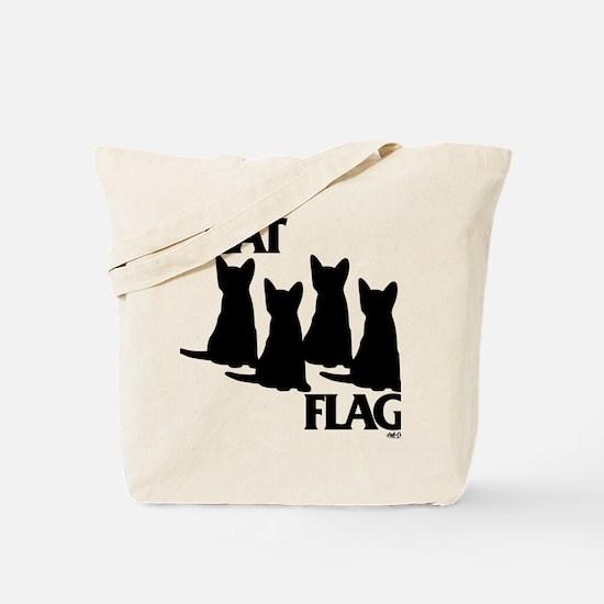 Cat Flag Tote Bag