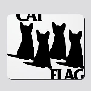 Cat Flag Mousepad