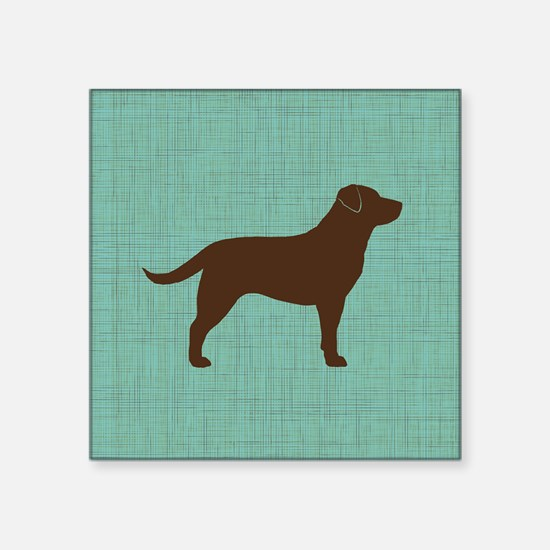 """choclabpillow Square Sticker 3"""" x 3"""""""