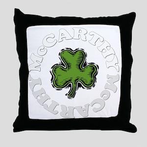 MCCARTHY Throw Pillow