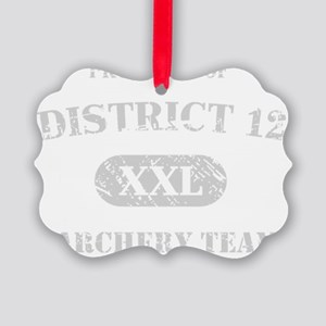 District 12 Archery Team Picture Ornament