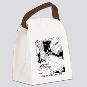 6386_cement_cartoon_KK Canvas Lunch Bag