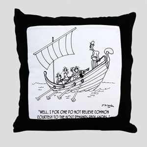 4652_boating_cartoon_RS Throw Pillow