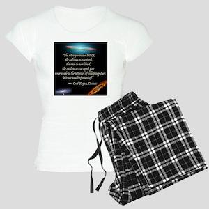 Sagan quote Women's Light Pajamas