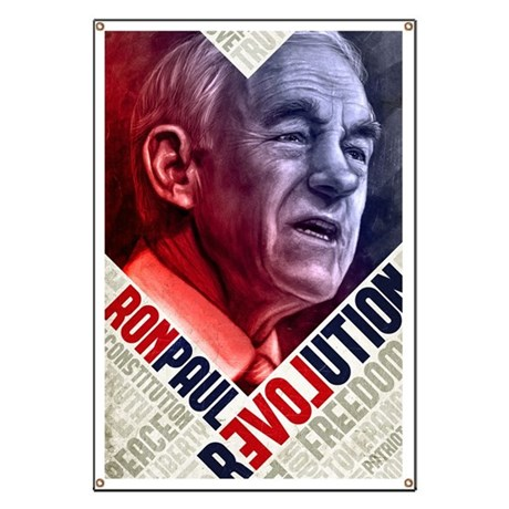 23x35 Ron Paul Revolution Poster Banner