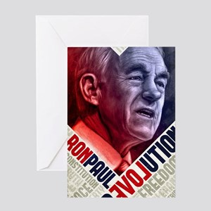 23x35 Ron Paul Revolution Poster Greeting Card