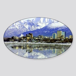 large print_0071_Anchorage-2 Sticker (Oval)