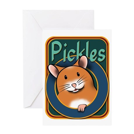 Pickles001 Greeting Card