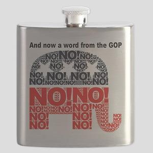 No! Flask