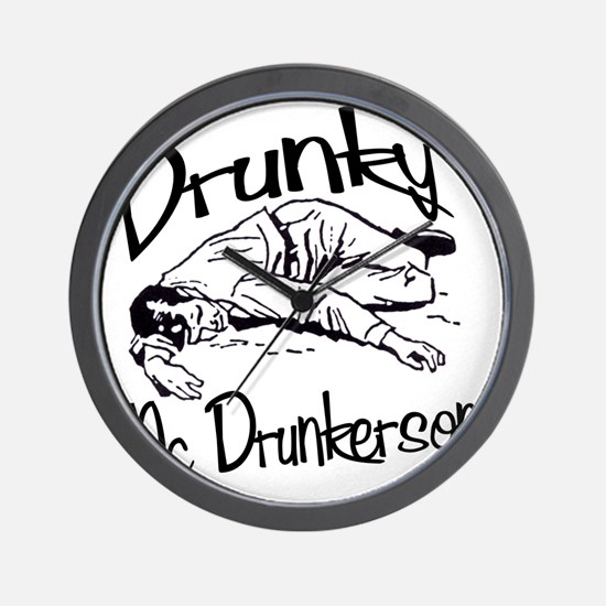 drunky_mcdrunkerson Wall Clock
